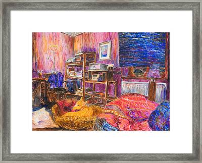 Home Alone Framed Print by Nik Helbig