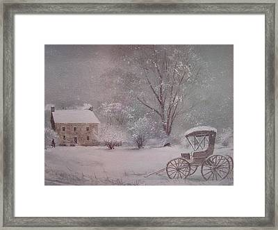 Home At Last Framed Print by Charles Roy Smith