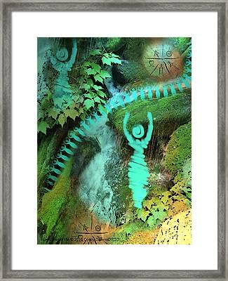 Home Awaits Me Framed Print by Cyndy DiBeneDitto