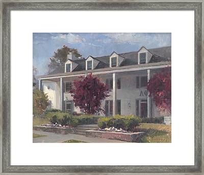 Home Away From Home Framed Print by Forrest  Formsma