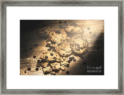 Home Biscuit Baking Framed Print