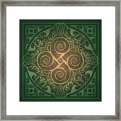 Home Blessing Framed Print by Cristina McAllister
