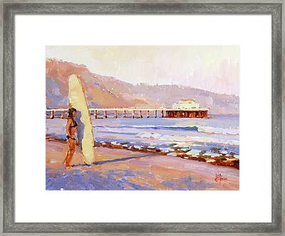 Home Break Framed Print by Jenifer Prince