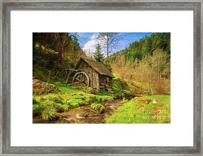 Home By Sarah Kirk Framed Print