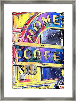 Home Cafe Framed Print by Gary Carson