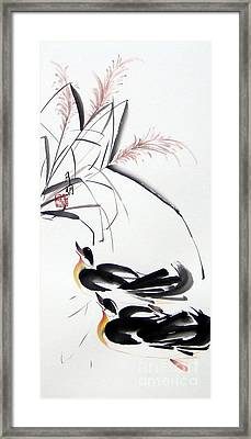 Home Coming Framed Print by Ming Yeung