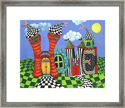 Home Framed Print by Debbie McCulley