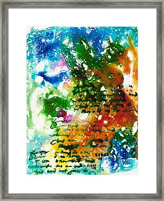 Home For Christmas Framed Print by Susan Kubes
