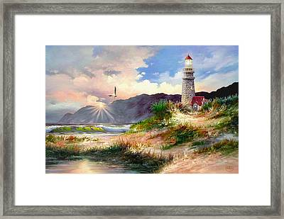 Home For The Night Framed Print
