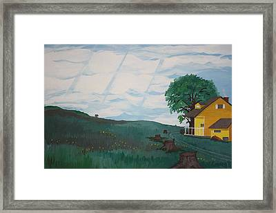 Home Framed Print by Frank Parrish