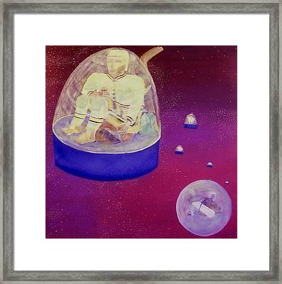 Home Game Framed Print by Ken Yackel