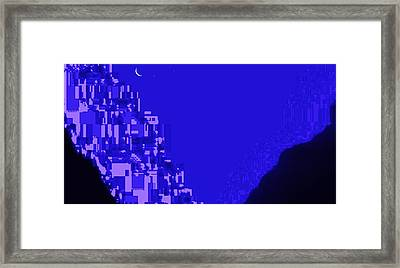 Home In Another World Framed Print