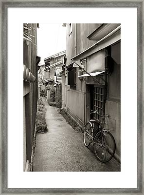 Home In Kyoto Framed Print by Jessica Rose