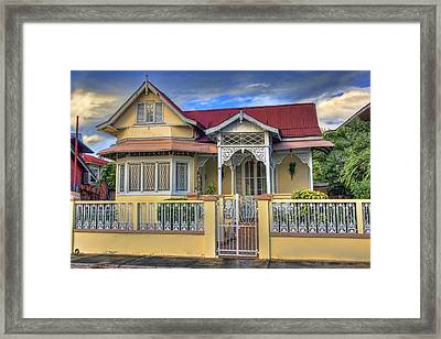 Home In The City Framed Print by Nadia Sanowar