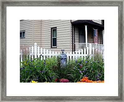 Home In The Heartland Oil Framed Print