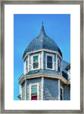 Home In Winthrop By The Sea Framed Print