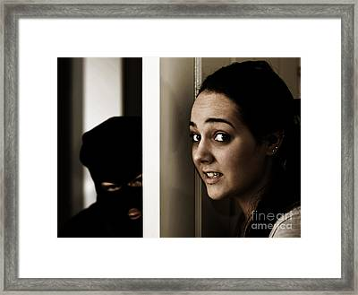 Home Invasion Framed Print by Jorgo Photography - Wall Art Gallery