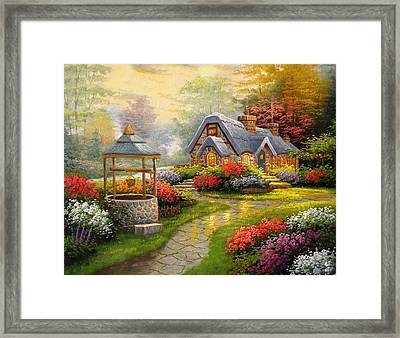 Home Is Where You Find Real Love Framed Print