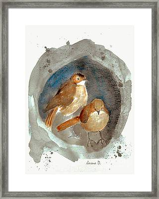 Home Framed Print by Jasna Dragun
