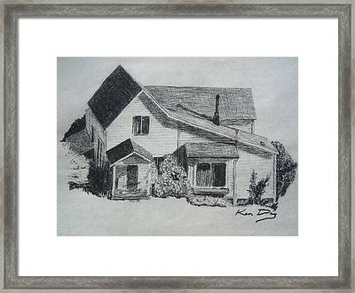 Home Framed Print by Ken Day