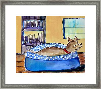 Home Framed Print by M L Borges
