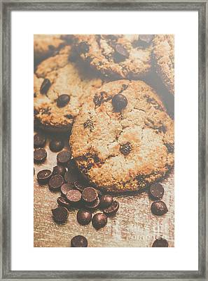 Home Made Biscuit Batch Framed Print