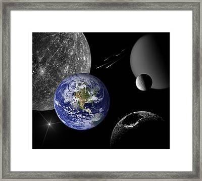 Home Framed Print by Marianna Mills