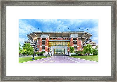 Home Of Champions -- Bryant-denny Stadium Framed Print