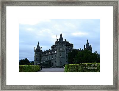 Home Of Clan Campbell In Scotland Framed Print