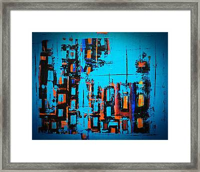 Home Of The Blues Number Three Framed Print