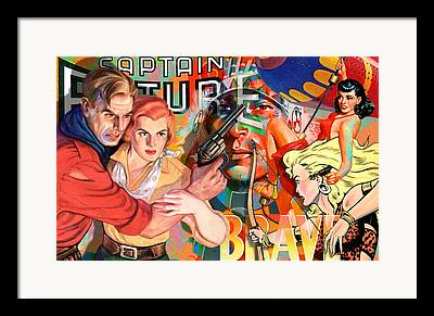 Robert Anderson Framed Prints