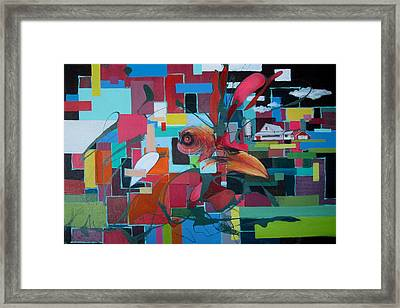 Home Of The Chicken Framed Print