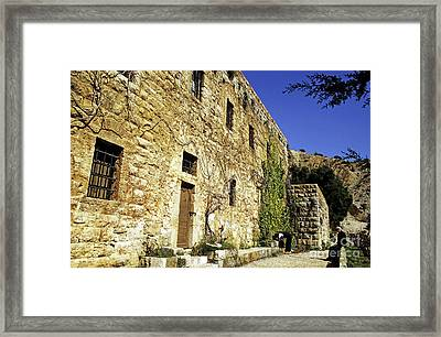 Home Of The Famous Lebanese-american Poet And Artist Khalil Gibran Framed Print by Sami Sarkis