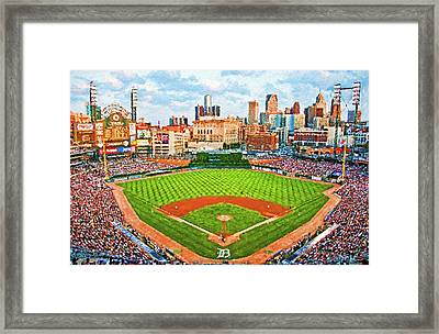 Home Of The Tigers Framed Print