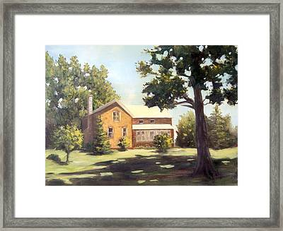 Home On The Farm Framed Print