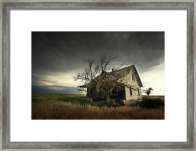 Home On The Range Framed Print by Brian Gustafson