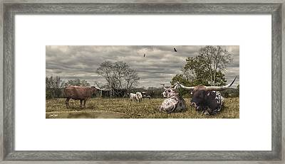 Home On The Range Framed Print by Don Olea