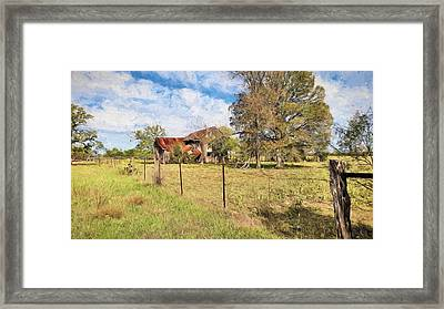 Home On The Range Framed Print by JC Findley