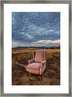 Home On The Range Framed Print by Peter Tellone