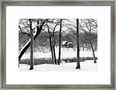 Home On The River Framed Print by Kathy M Krause