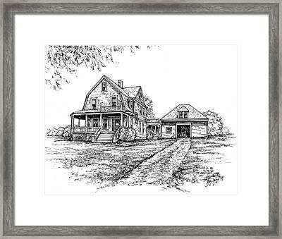 Home Place Framed Print by Greg Joens