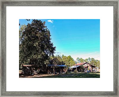 Home-place II Framed Print