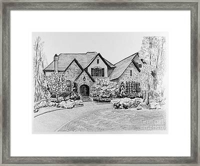 Home Portrait 2043 Framed Print by Robert Yaeger