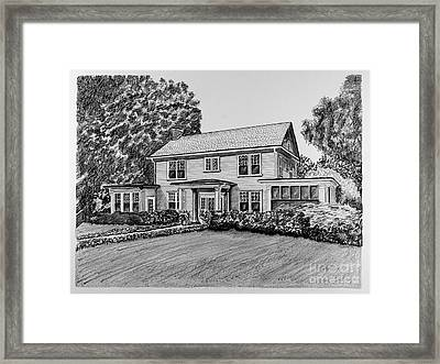 Home Portrait 2044 Framed Print