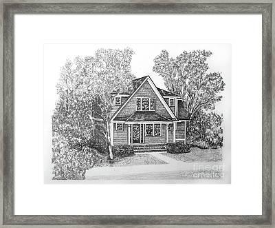 Home Portrait 2050 Framed Print
