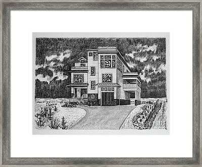 Home Portrait 2052 Framed Print