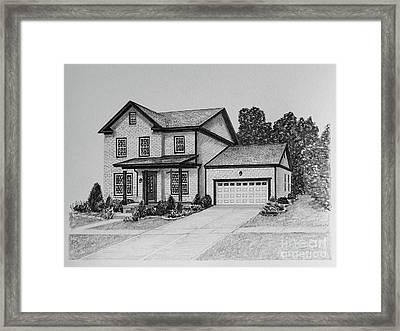 Home Portrait 2062 Framed Print