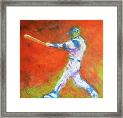 Home Run Framed Print by Brian Stone