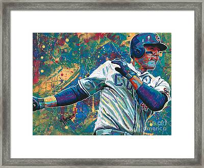 Home Run Rizzo Framed Print