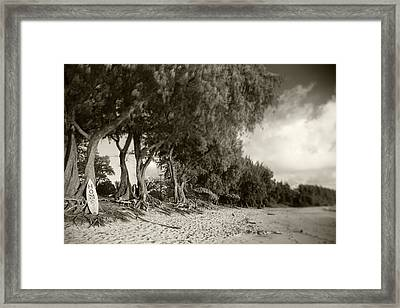 Home Framed Print by Sean Davey